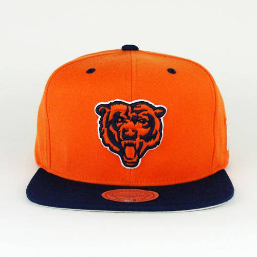 NFL Chicago Bears Michell and Ness Two Tone Throwback Snapback Hat