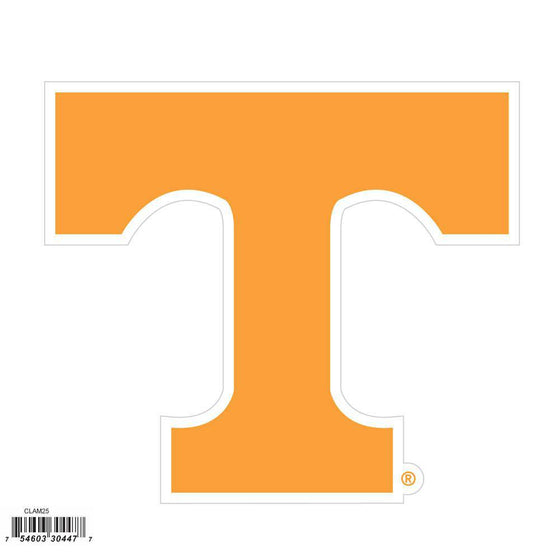 NCAA Tennessee UT Volunteers Indoor/Outdoor Perfect Cut 8 inch Logo Magnet - 757 Sports Collectibles