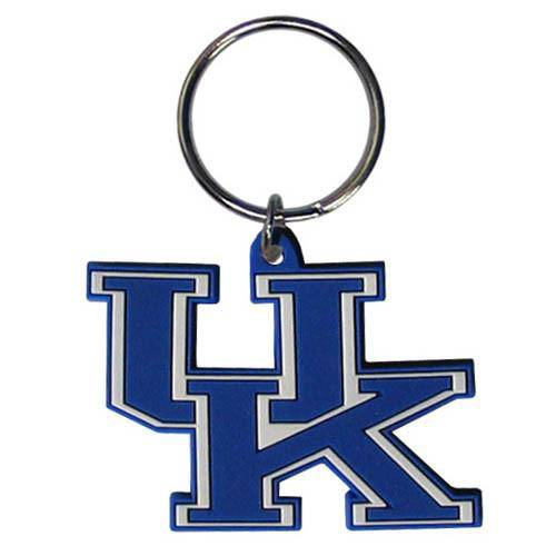 NCAA University of Kentucky UK Wildcats Team Logo Flex Key Chain