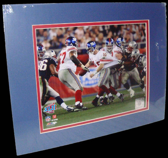 Eli Manning New York Giants Super Bowl Matted 8x10 Photo Picture Poster Print