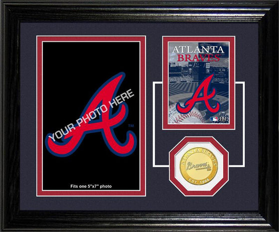 Atlanta Braves Fan Memories Photo Mint (HM)