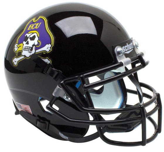 East Carolina Jolly Roger Black Alternate 2 Mini Helmet