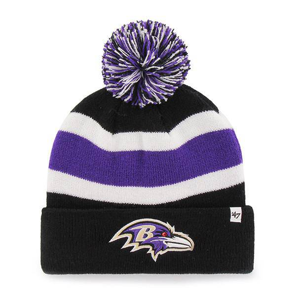 Baltimore Ravens Breakaway Cuff Knit Hat