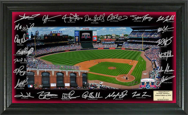 Atlanta Braves 2016 Signature Field  (HM)