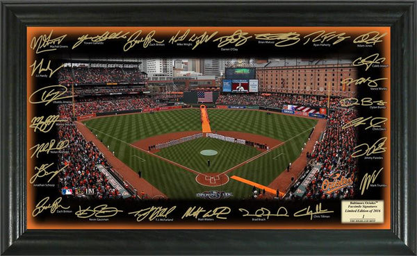 Baltimore Orioles 2016 Signature Field  (HM)