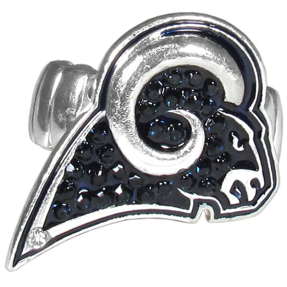 Los Angeles Rams Crystal Ring (SSKG)