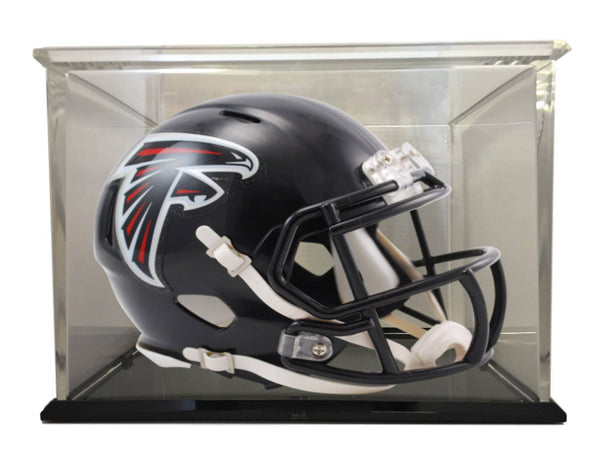 Atlanta Falcons Speed Mini Football Helmet with 98% UV Protective Acrylic Display Case