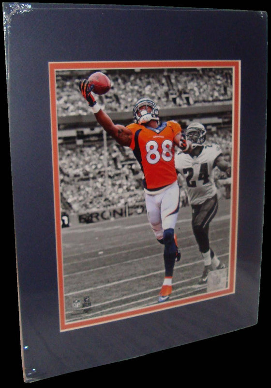 Demaryius Thomas Denver Broncos Spotlight Matted 8x10 Photo Picture Poster Print