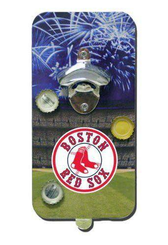 Boston Red Sox Click 'N Drink Heavy Duty Magnetic Bottle Opener