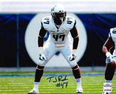 NCAA TJ Ricks Old Dominion ODU Monarchs Signed Auto 8x10 ( JSA PSA Pass) 757