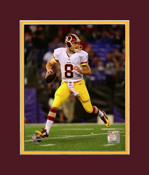 Kirk Cousins Washington Redskins White Matted 8x10 Photo Picture Poster Print