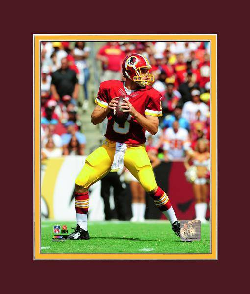Kirk Cousins Washington Redskins Red Matted 8x10 Photo Picture Poster Print