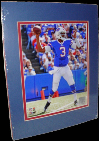 EJ Manuel Buffalo Bills Throw Matted 8x10 Photo Picture Poster Print