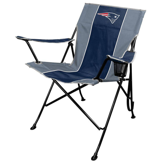 NFL New England Patriots Tailgate Folding Quad Chair with Click & Carry Strap