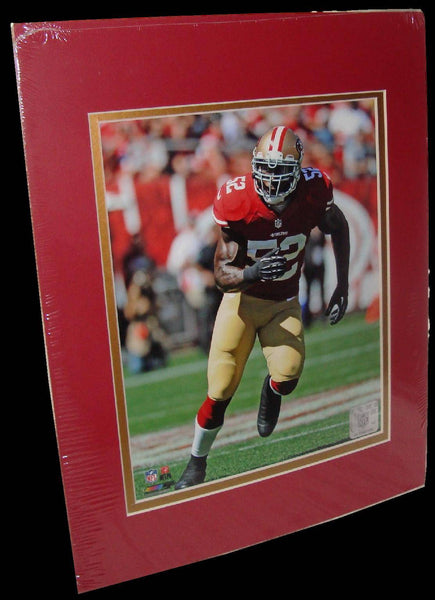 Patrick Willis San Francisco 49ers Red Matted 8x10 Photo Picture Poster Print