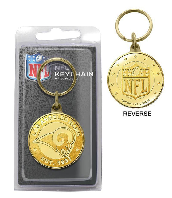 Los Angeles Rams Bronze Coin Keychain (HM)