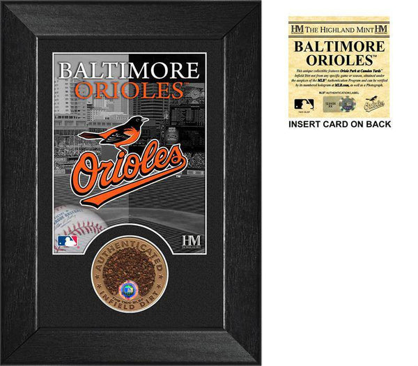 Baltimore Orioles Dirt Coin Mini Mint  (HM)