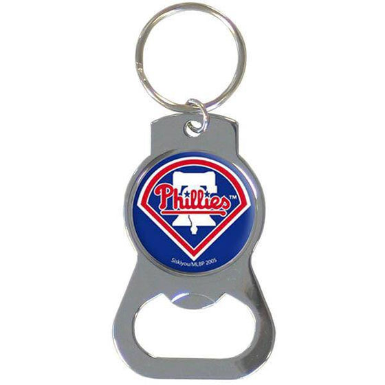 MLB Philadelphia Phillies Bottle Opener Key Chain Ring