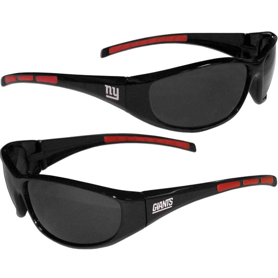 NFL New York Giants Wrap Sunglasses Shades