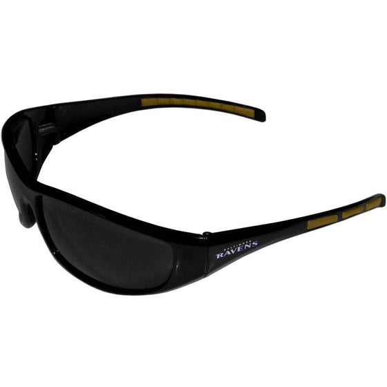 NFL Baltimore Ravens Wrap Sunglasses Shades