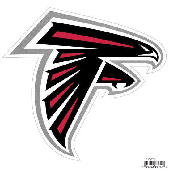NFL Atlanta Falcons Indoor/Outdoor Perfect Cut 8 inch Logo Magnet