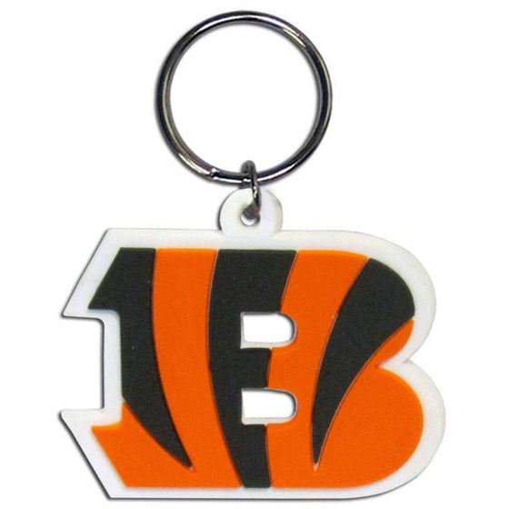 NFL Cincinnati Bengals Team Logo Flex Key Chain