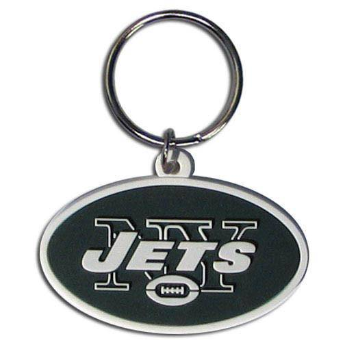NFL New York Jets Team Logo Flex Key Chain - 757 Sports Collectibles