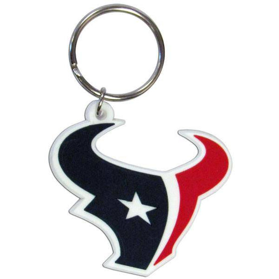 NFL Houston Texans Team Logo Flex Key Chain