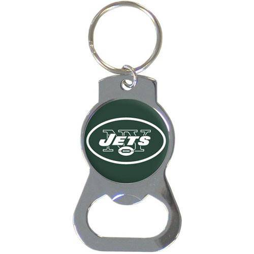 NFL New York Jets Bottle Opener Key Chain Ring