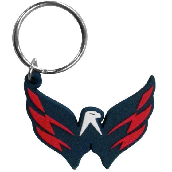 NHL Washington Capitals Team Logo Flex Key Chain - 757 Sports Collectibles