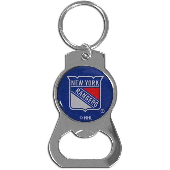 NHL New York Rangers Bottle Opener Key Chain Ring