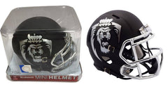 NCAA Old Dominion Monarchs Black Chrome Speed Mini Helmet