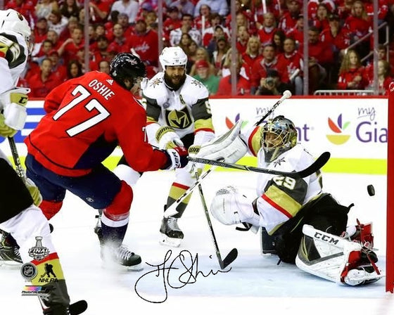 Presale - Washington Capitals TJ Oshie Autograph Signed Stanley Cup 16x20 Photo Goal - Signing 8.17.2019