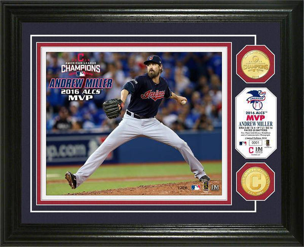 "2016 AL ""MVP"" Bronze Coin Photo Mint (HM)"