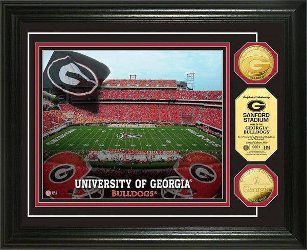 University of Georgia Bulldogs Stadium Gold Coin Photo Mint (HM)