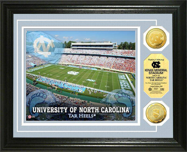 University of North Carolina Tarheels Gold Coin Photo Mint (HM)