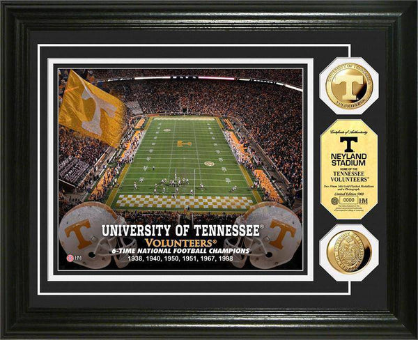 University of Tennessee Volunteers Stadium Gold Coin Photo Mint (HM)