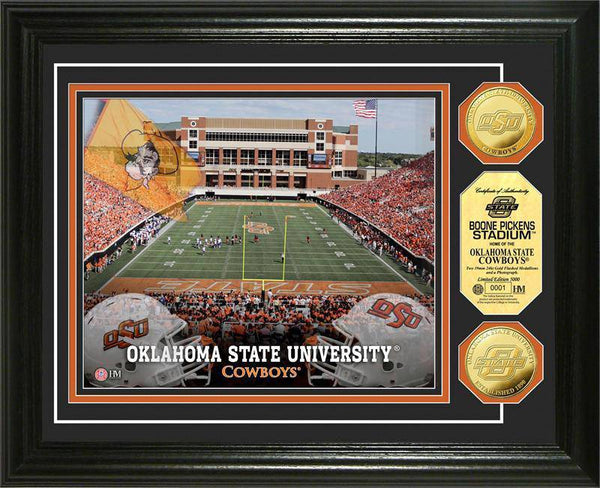 Oklahoma State University Cowboys Gold Coin Photo Mint (HM)