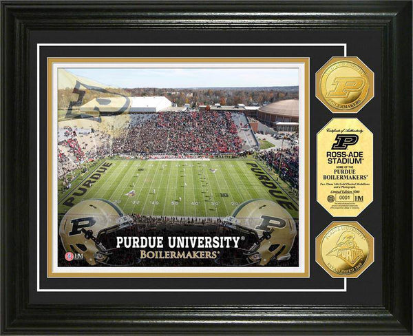 Purdue University Boilermakers Stadium Gold Coin Photo Mint (HM)