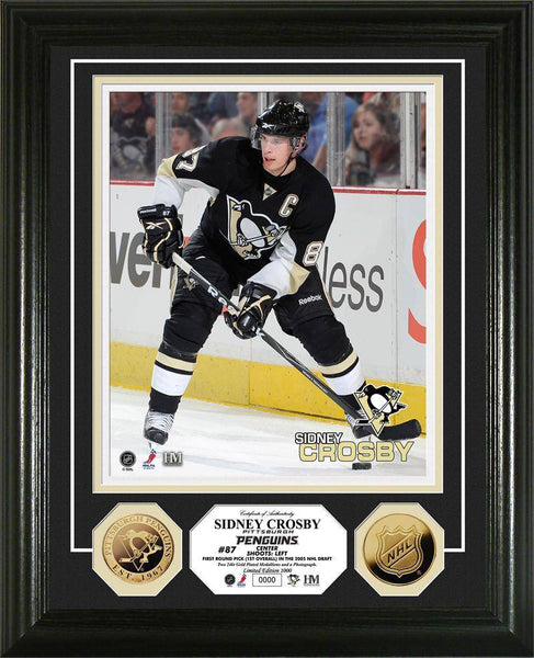 Pittsburgh Penguins Sidney Crosby 24KT Gold Coin Photo Mint (HM)