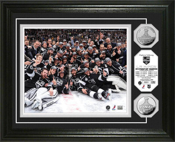 "Los Angeles Kings 2012 Stanley Cup Champions ""Celebration"" Gold Coin Photo Mint (HM)"