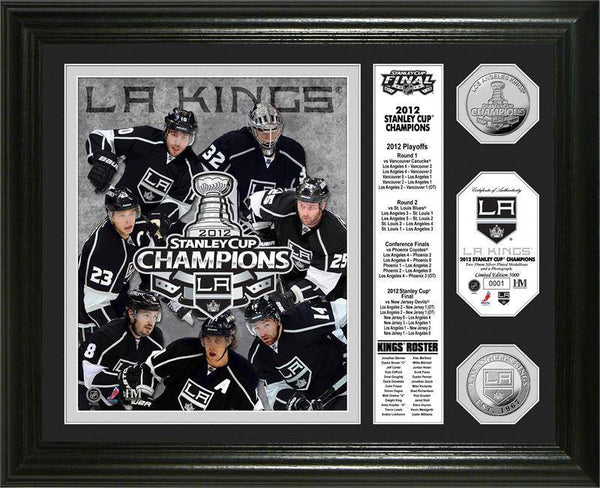 "Los Angeles Kings 2012 Stanley Cup Champions ""Banner"" Gold Coin Photo Mint (HM)"