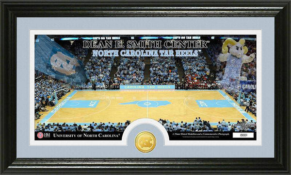"North Carolina Tarheels University of North Carolina ""Court"" Bronze Coin Panoramic Photo Mint  (HM)"