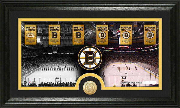 "Boston Bruins ""Tradition"" Minted Coin Pano Photo Mint (HM)"