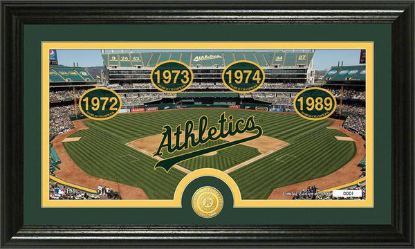 "Oakland Athletics ""Tradition""  Bronze Coin Panoramic Photo Mint (HM)"