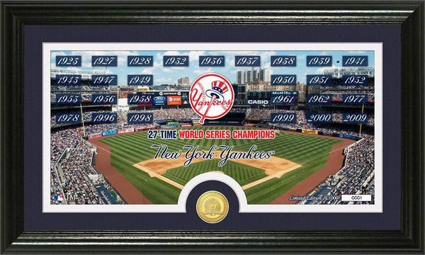 "New York Yankees ""Traditions"" Bronze Coin Panoramic Photo Mint (HM)"
