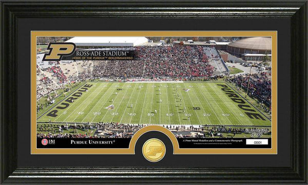 "Purdue University Boilermakers ""Stadium"" Bronze Coin Panoramic Photo Mint (HM)"