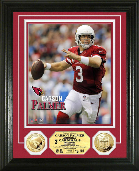 Arizona Cardinals Carson Palmer Gold Coin Photo Mint (HM)