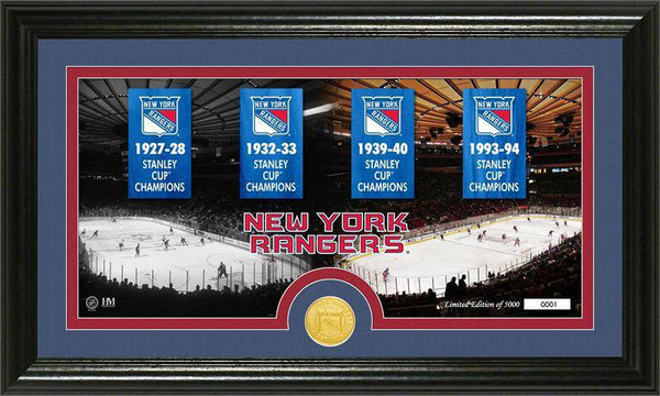 "New York Rangers ""Tradition"" Minted Coin Pano Photo Mint (HM)"