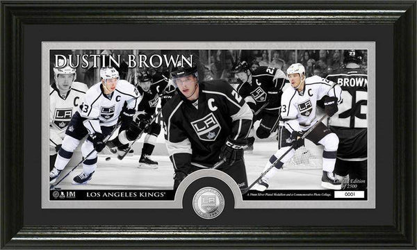 Los Angeles Kings Dustin Brown Mint Coin Panoramic Photo Mint (HM)